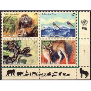 ÜRO (Viin) - loomad, linnud, roomajad 1999, **