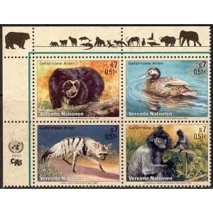 ÜRO (Viin) - fauna: loomad, linnud 2001, **
