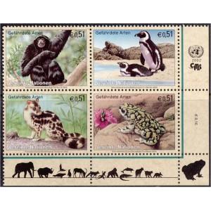 ÜRO (Viin) - fauna: loomad, linnud 2002, **