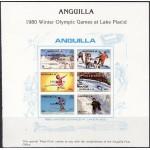 Anguilla - Lake Placid 1980, SPECIMEN **