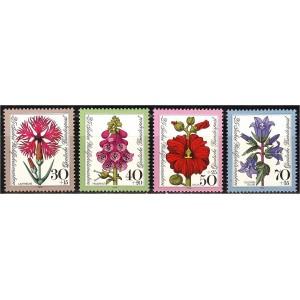 Saksamaa - lilled 1974, **