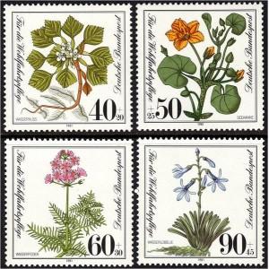 Saksamaa - lilled 1981, **