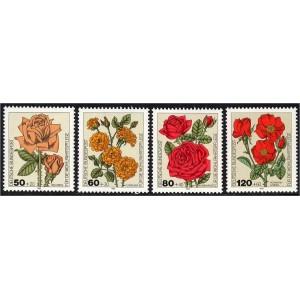 Saksamaa - lilled, aiaroosid 1982, **