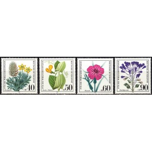 Saksamaa - lilled 1980, **