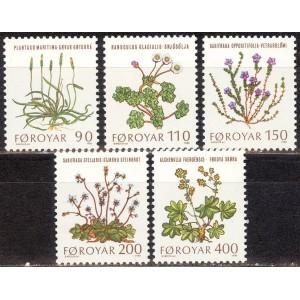 Fääri saared - lilled 1980, **