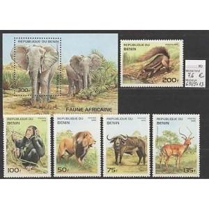 Benin - loomad 1995, **