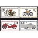 Saksamaa - mootorrattad ja mopeedid 1983, **