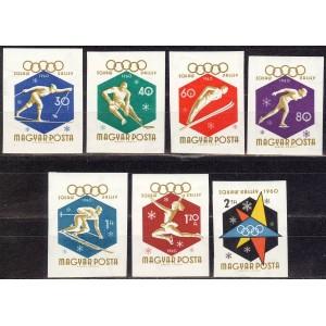 Ungari - Squaw Valley 1960 olümp., lõigatud **