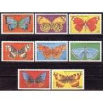 Guinea Ecuatorial - liblikad III, MNH