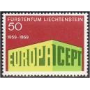 Liechtenstein - Europa 1969, **