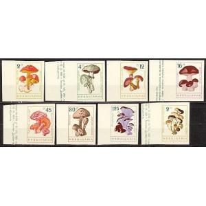 Bulgaaria - seened 1961, MNH lõigatud