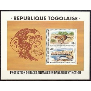 Togo - loomad, puhas (MNH)