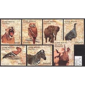 Guinea-Bissau - linnud ja loomad 1988, **