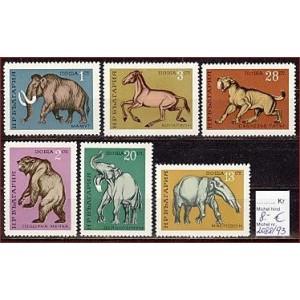 Bulgaaria - loomad 1971, MNH