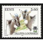Eesti - 2000 Tallinna loomaed, amuuri goral, **