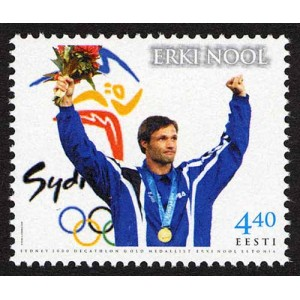 Eesti - 2001 olümpiavõitja Erki Nool, **