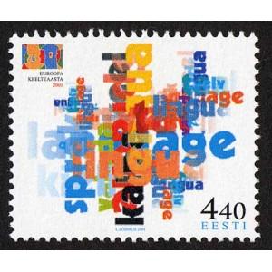 Eesti - 2001 Euroopa keelteaasta, **