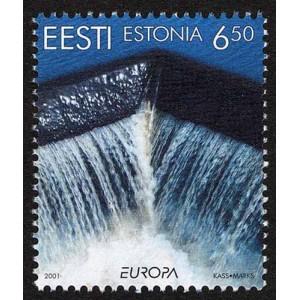 Eesti - 2001 Europa - vesi, looduse rikkus, **
