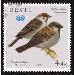 Eesti - 2002 aasta lind - varblane, **