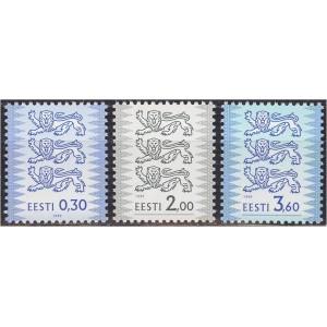 Eesti - 1999 Eesti Vapp 0.30, 2.00 ja 3.60, **