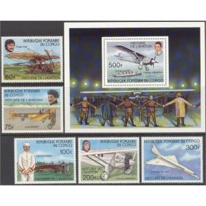 Kongo - lennukid 1977, **