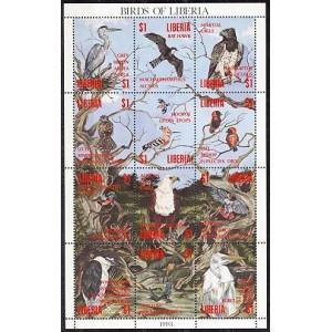 Libeeria - linnud 1993, **