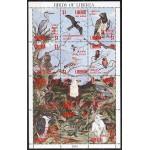Libeeria - linnud 1993, MNH