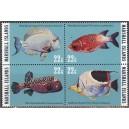 Marshall Islands - merefauna, kalad 1985, **