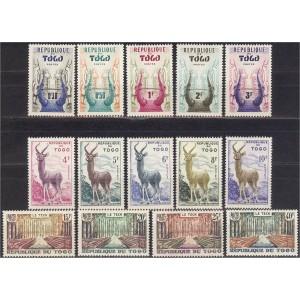 Togo - fauna, antiloobid 1959, **