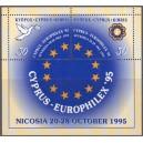 Küpros - Euroopa marginäitus ´95, **