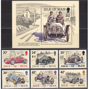 Isle of Man - võidusõiduautod 1995, **