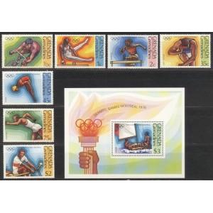 Grenada Grenadines - Montreal 1976, **