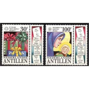 Hollandi Antillid - jõulud 1990, **