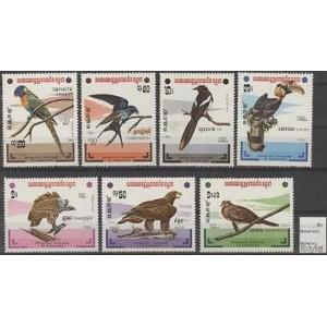 Kampuchea - linnud 1983, **