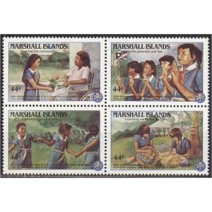 Marshall Islands - 75 a skautlust USA-s 1986, **