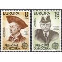 Andorra (hisp) - Europa 1980, **
