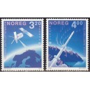 Norra - Europa, kosmos 1991, **