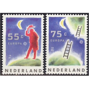 Holland - Europa, kosmos 1991, **