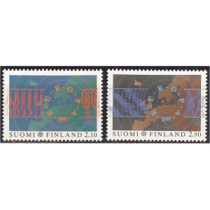 Soome - Europa, kosmos 1991, **