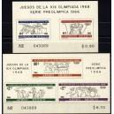 Mehhiko - Mexico 1968 olümpia II, **