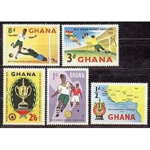 Ghana - jalgpall 1959, MNH