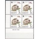 Eesti - 1994 Lendorav 3 kr, lühike hammas nurk **