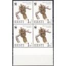 Eesti - 1994 Lendorav 1 kr, lühike hammas nelik **