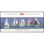 Guernsey - purjetamine, purjekad 1991, plokk **