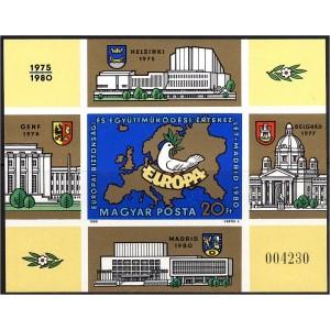 Ungari - Euroopa konverents 1980, lõigatud **