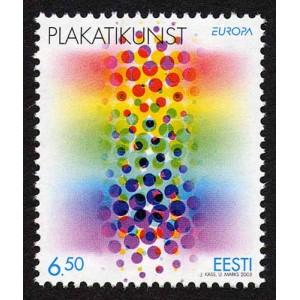 Eesti - 2003 Europa, plakatikunst, **
