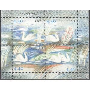 Eesti - 2005 kevad - luiged, **