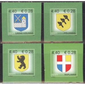 Eesti - 2006 maakondade vapid, **