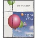 Eesti - 2007, Lastekaitsepäev, nurk **