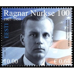 Eesti - 2007, Ragnar Nurkse 100, **